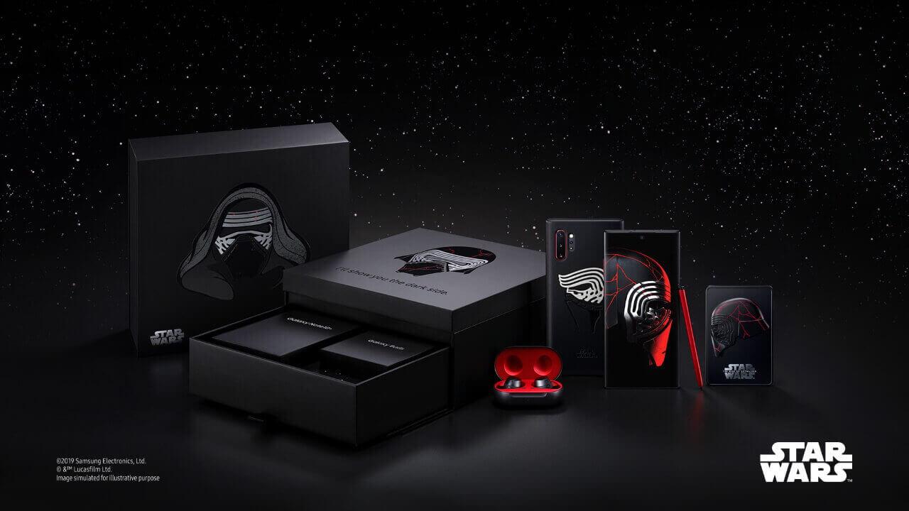 「Galaxy Note10+ Star Wars Special Edition」発表、12月に発売