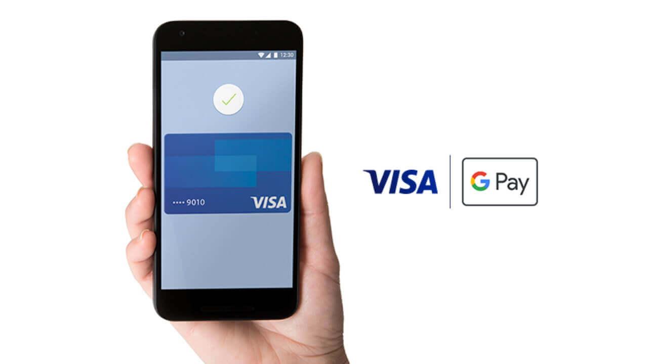 「Google Pay」がついにNFC決済に対応、まずは「Visaのタッチ決済」から