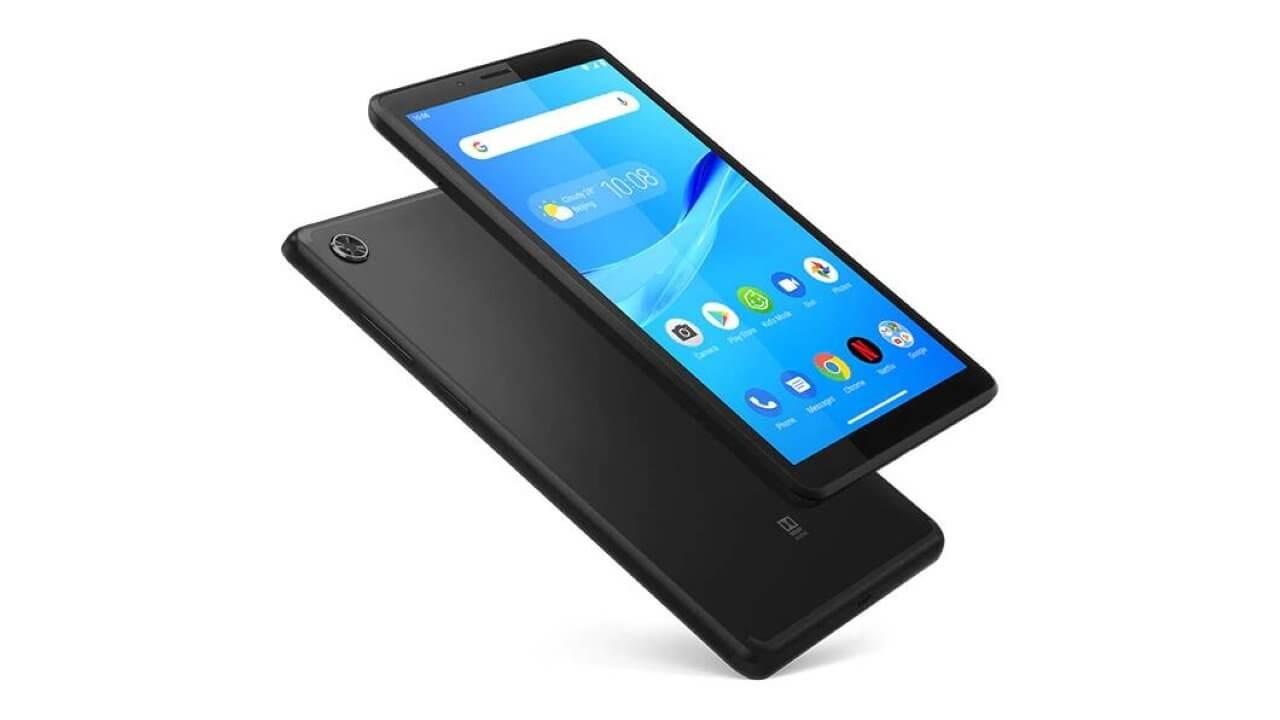Android 9.0 Go「Lenovo Tab M7」2GB RAMモデルが購入可能に
