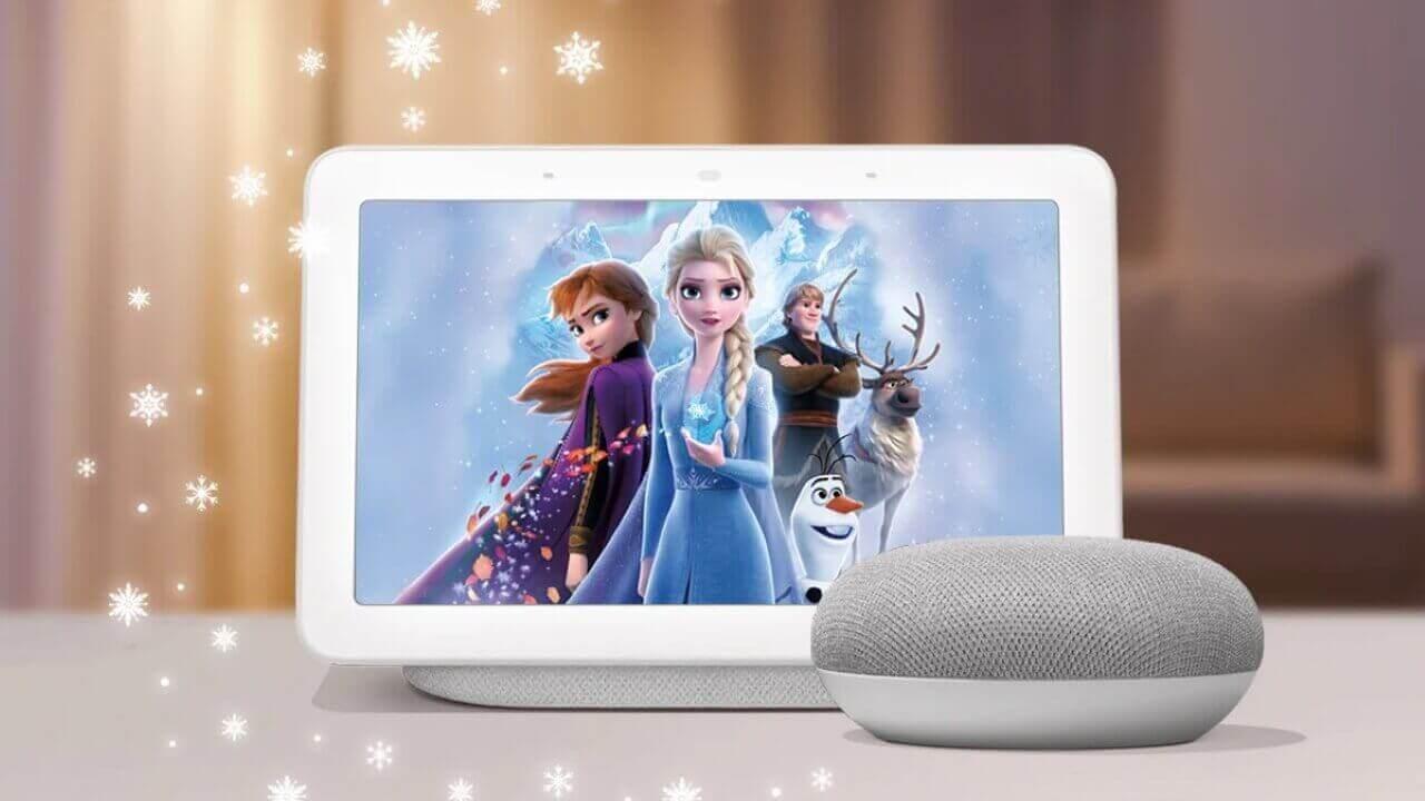 「Nest Mini」を購入すると「アナと雪の女王2」グッズがもらえる