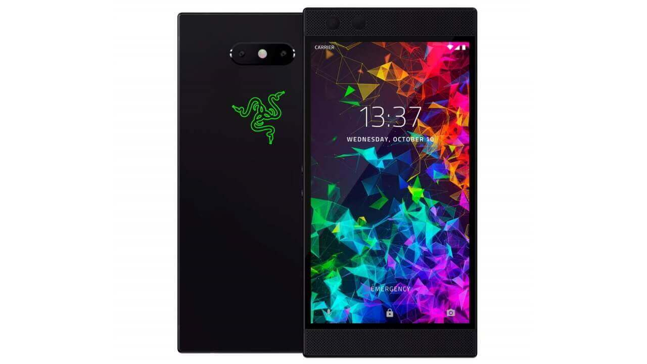 米Amazonに「Razer Phone 2 Satin Black Edition」が特価で登場
