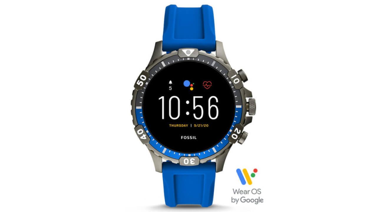 Fossil第5世代Wear OS「Garrett HR」希少モデルが20%引き特価