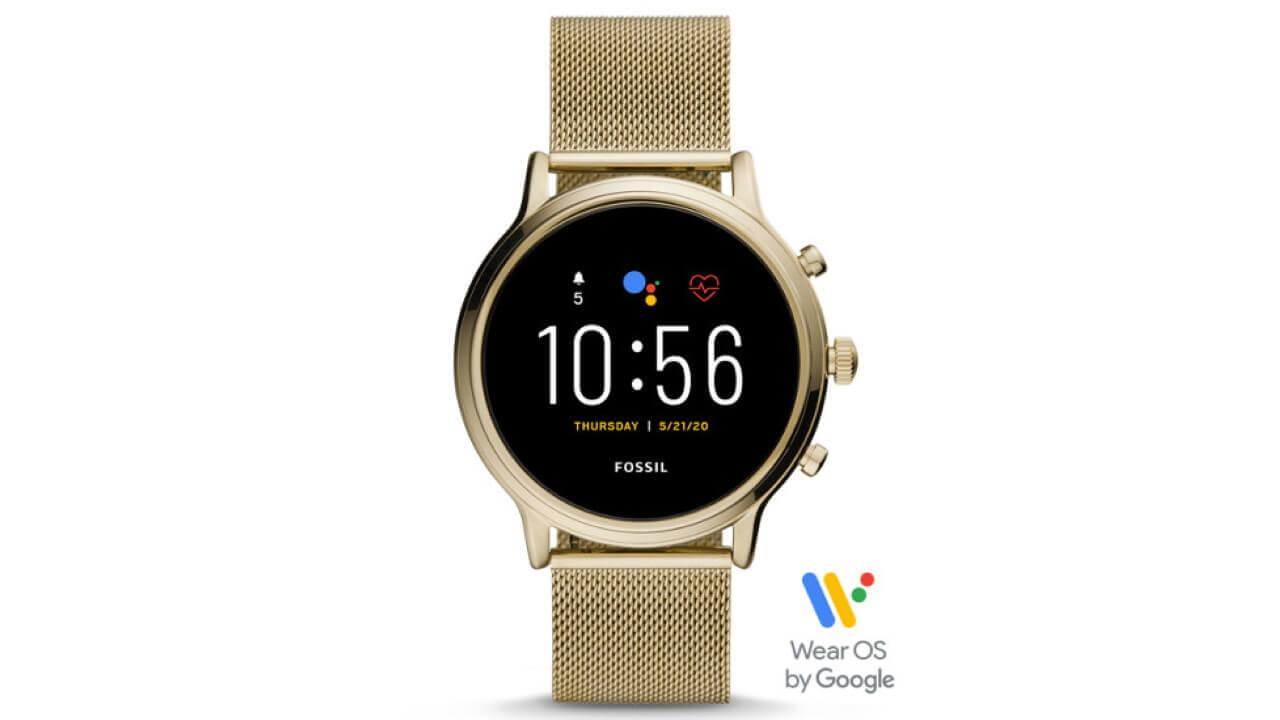 Fossil第5世代Wear OS「Julianna HR」新モデルが楽天で発売