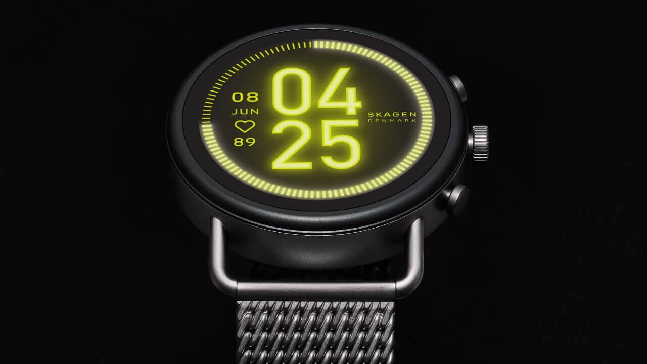 新型Wear OS「SKAGEN FALSTER 3」1月下旬国内発売