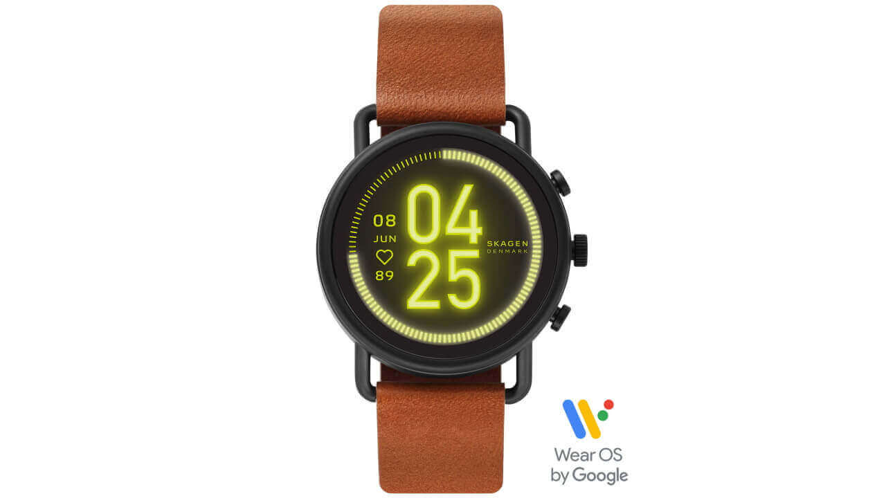 Amazonで新型Wear OS「SKAGEN FALSTER 3」発売