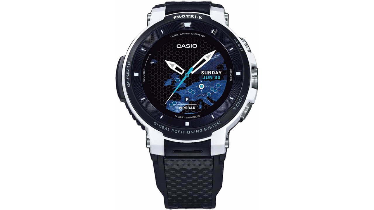 カシオの限定Wear OS「PRO TREK Smart WSD-F30-WE」が15%ポイント還元に増量