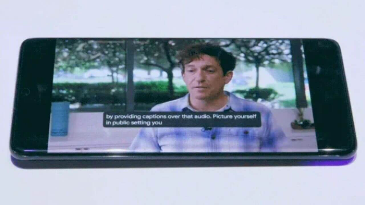 字幕キャプション「Live Caption」が「Galaxy S20」で利用可能に