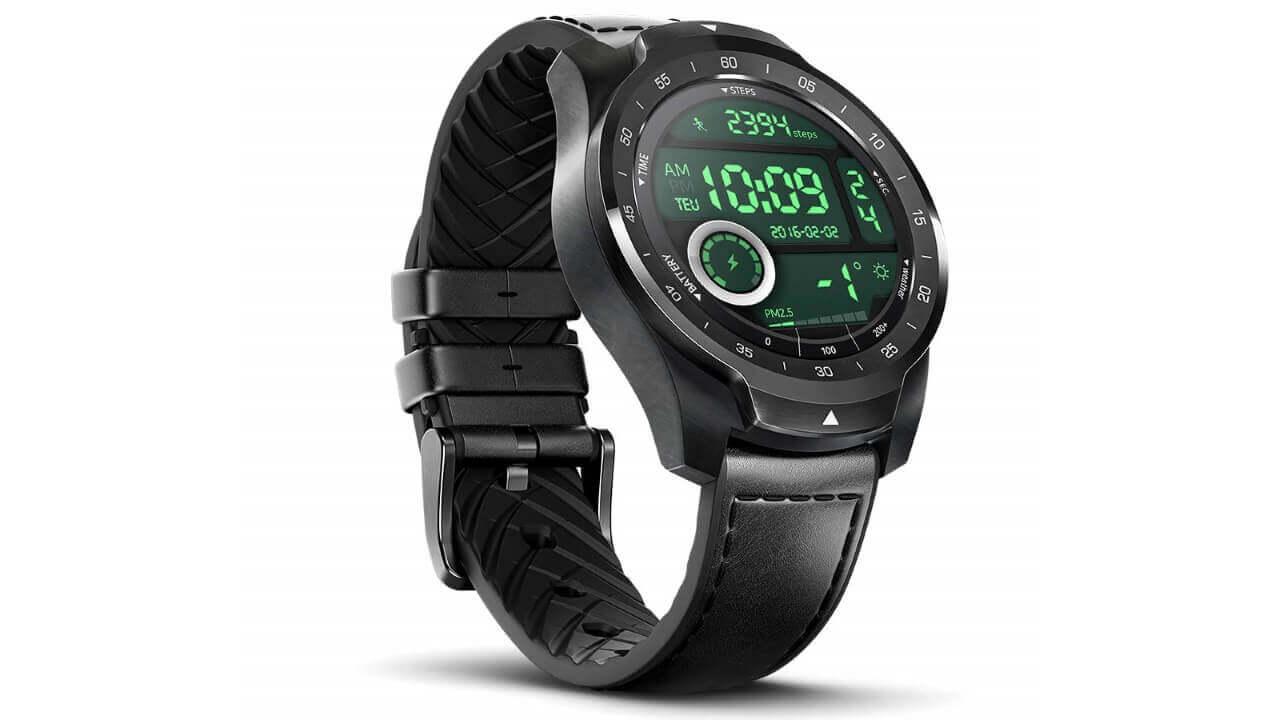 新型Wear OS「Ticwatch Pro 2020」購入で「TicPods 2 Pro」15%引きキャンペーン
