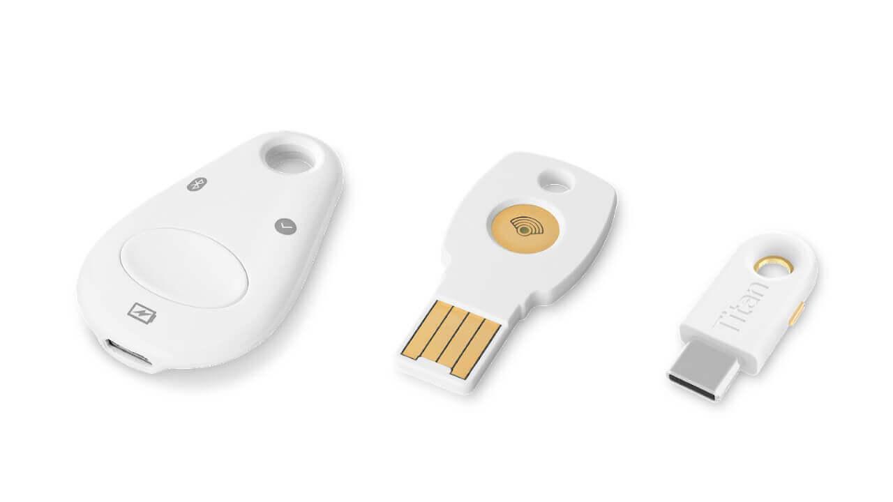 「Titan セキュリティ キー」がMaOS(Safari)などに対応拡大