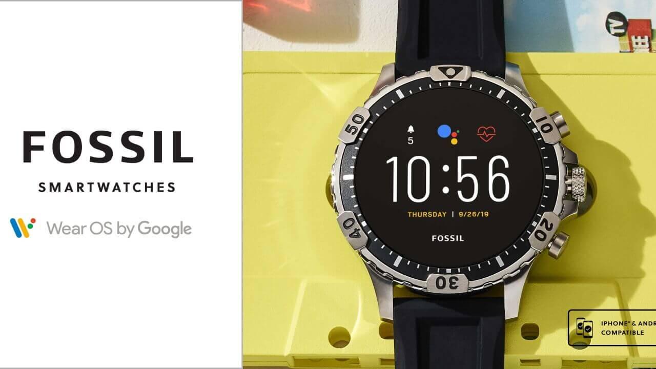 第5世代Wear OS「Fossil Garrett HR」Amazonで9%引き特価
