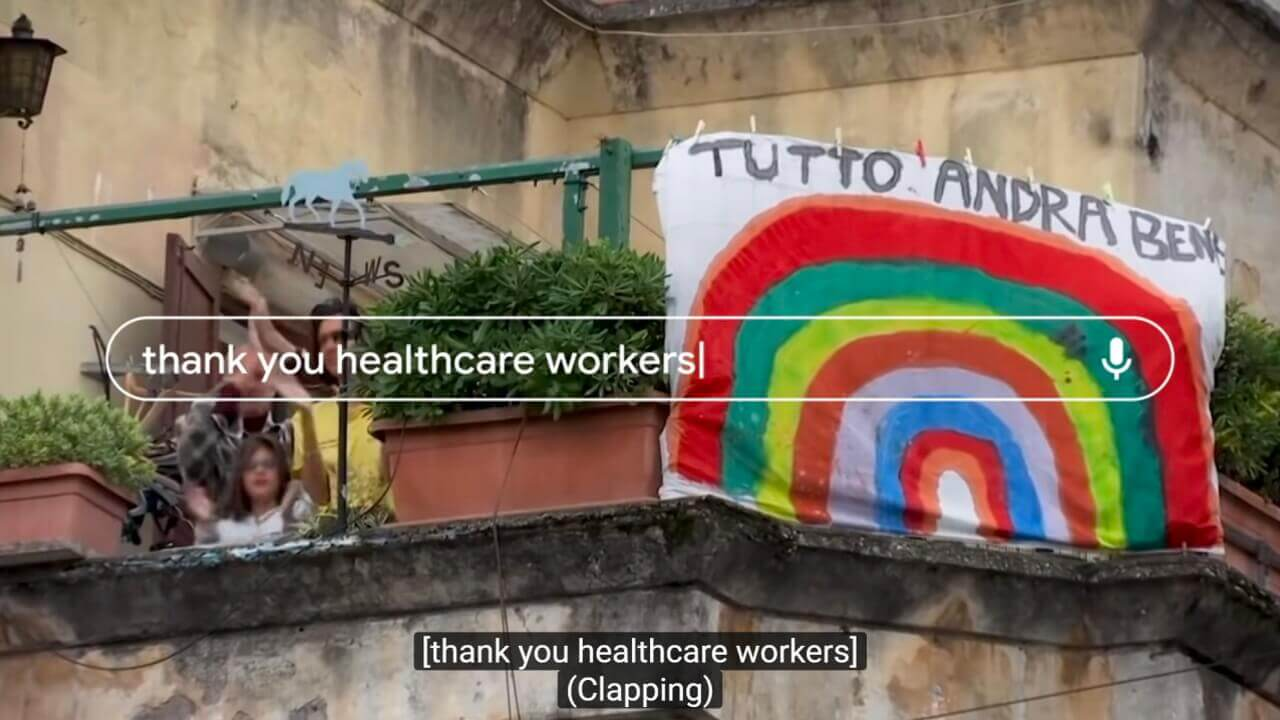 Google「Thank You Healthcare Workers」動画公開、世界の医療従事者にありがとう