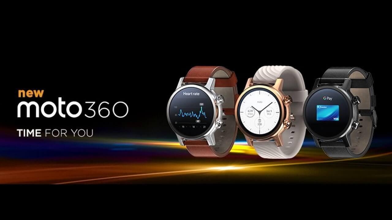 米B&Hで第3世代Wear OS「Moto 360」が$100引き特価!