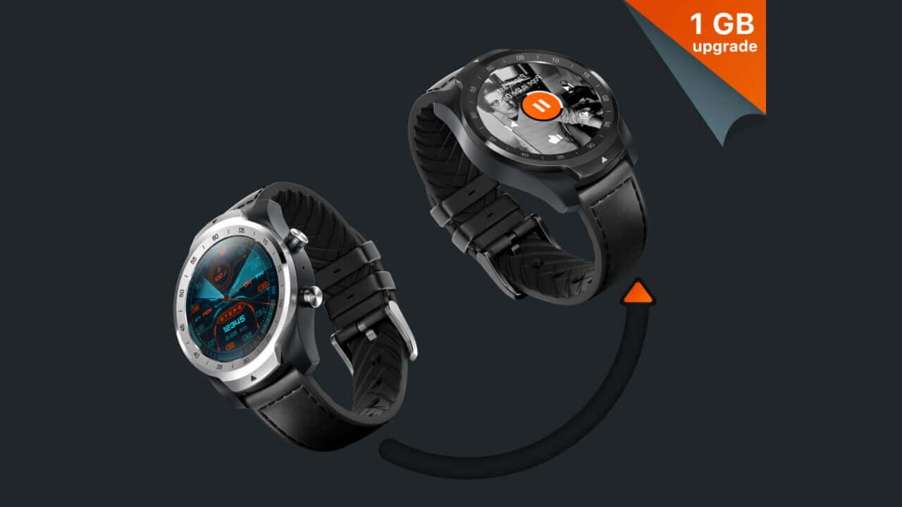 1GB RAM搭載新型Wear OS「Ticwatch Pro 2020」米Amazonで発売