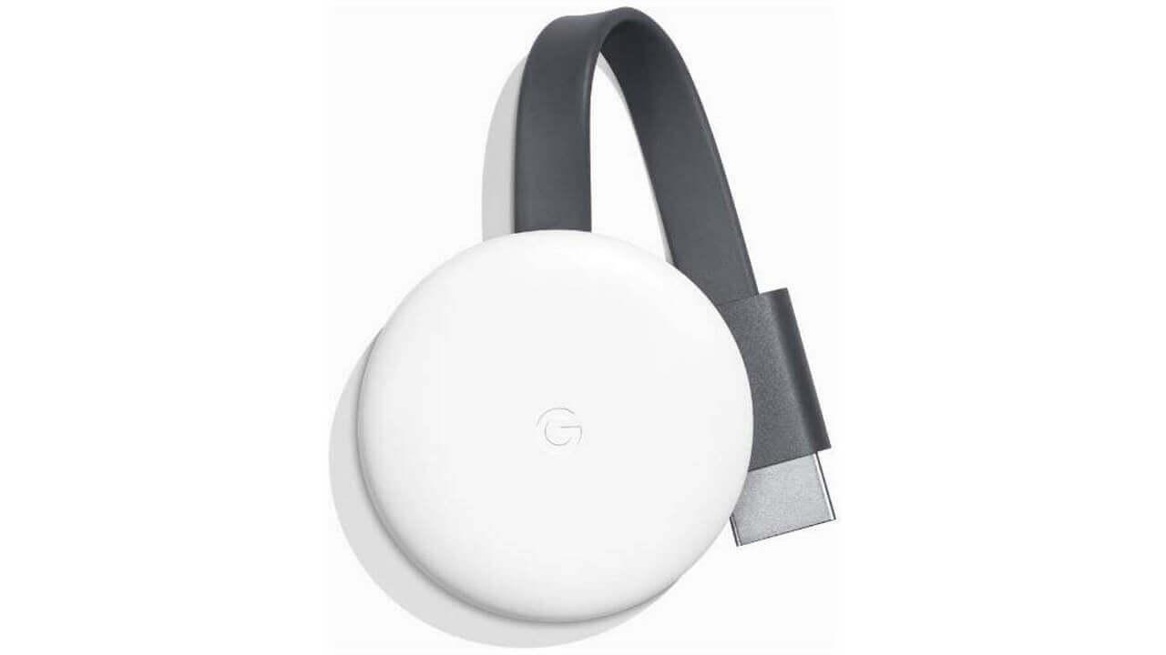 ビックカメラ、第3世代「Chromecast」ホワイトが在庫処分特価に!