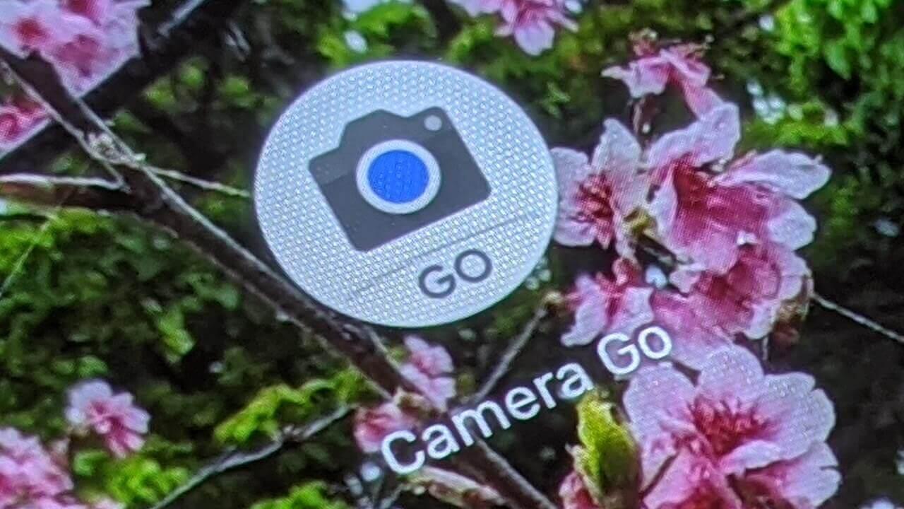 軽量カメラアプリ「Google Camera Go」を使ってみた