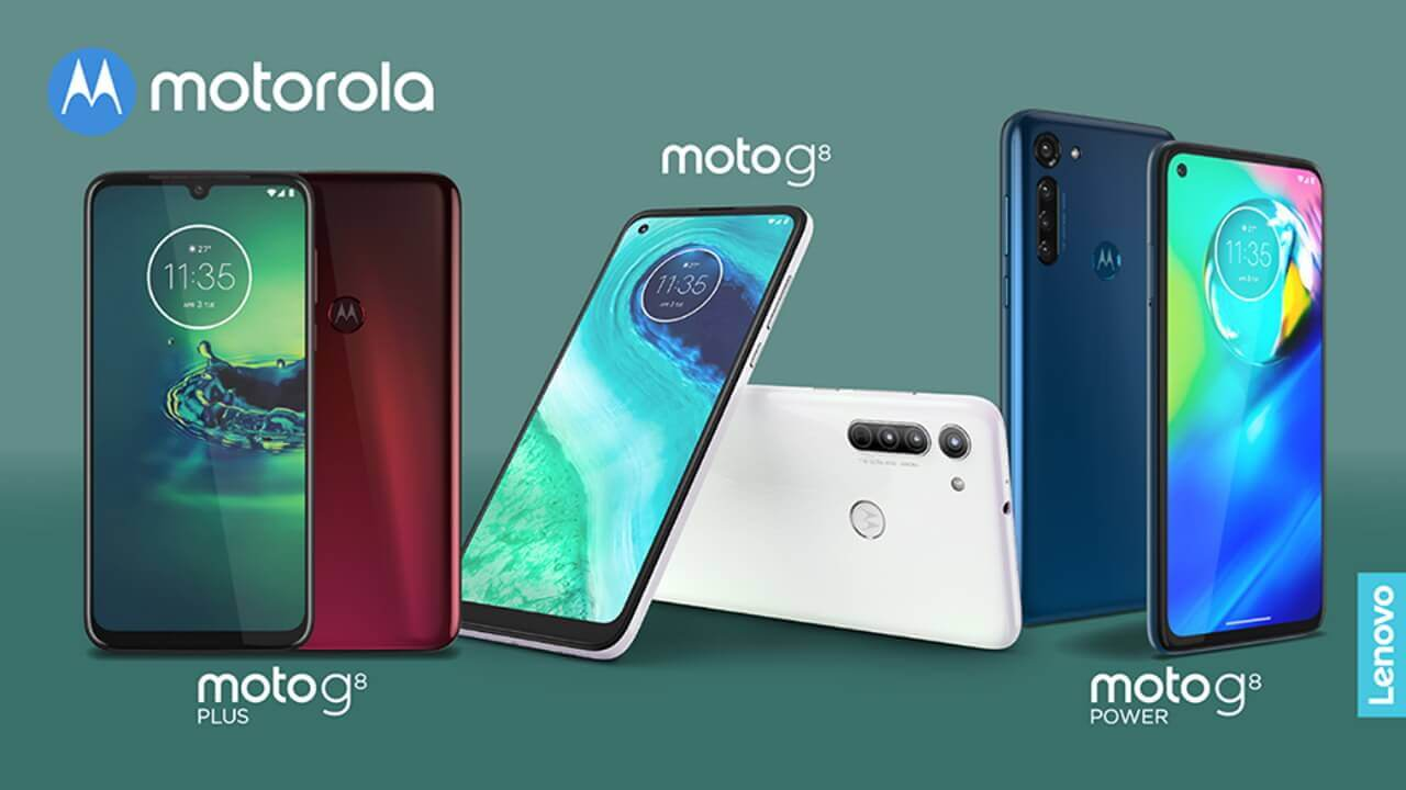 「Moto G8/G8 Power」4月28日国内発売