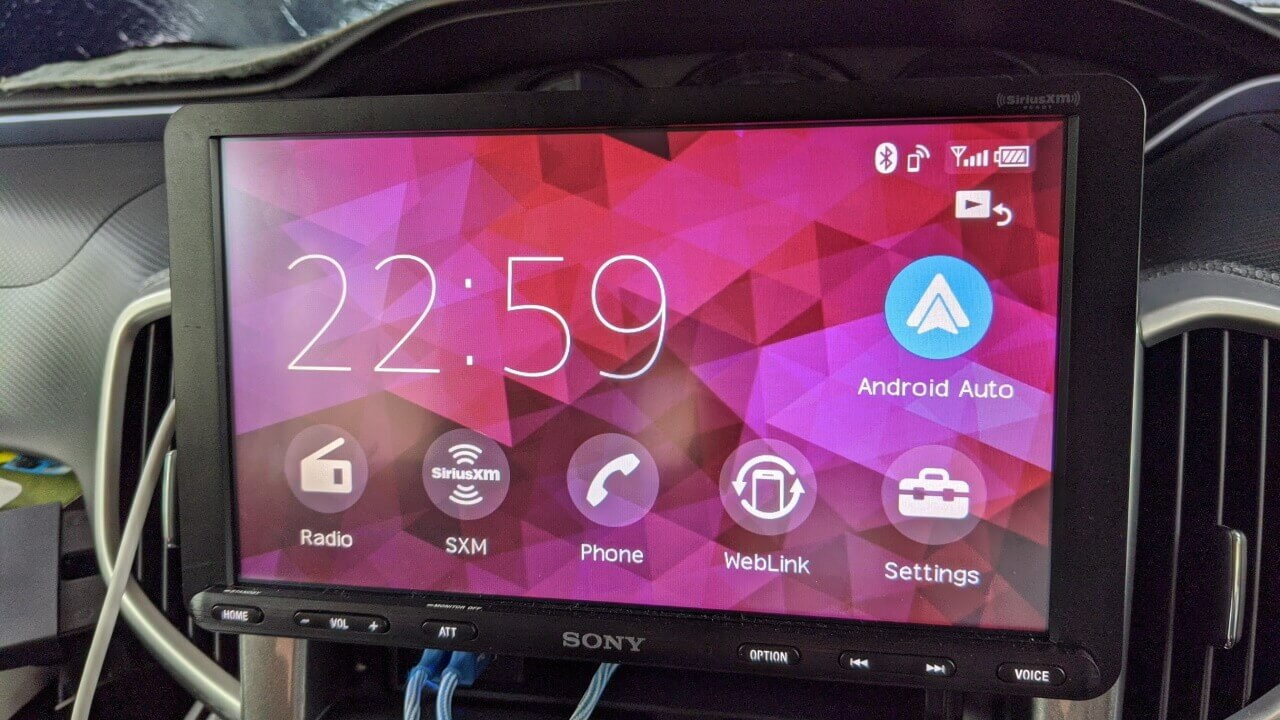 Android Auto「Sony XAV-AX8000」でステアリングスイッチを割り当てる方法