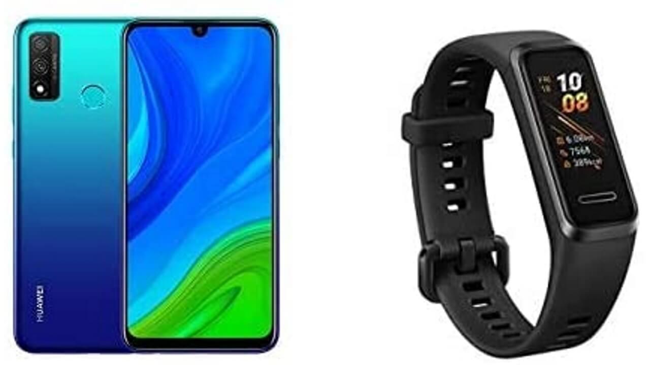 Amazonで「Huawei nova lite 3+」+「Huawei Band 4」が2,300円引き特価