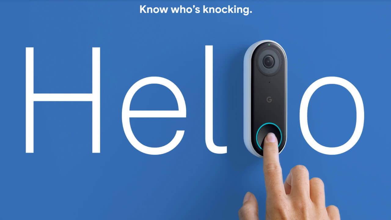 Googleブランドの「Nest Hello」がFCC認証取得
