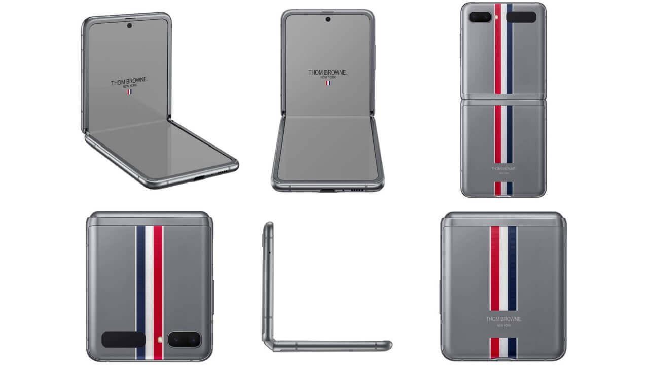 国内版SIMフリー「Galaxy Z Flip Thom Browne Edition」5月15日発売