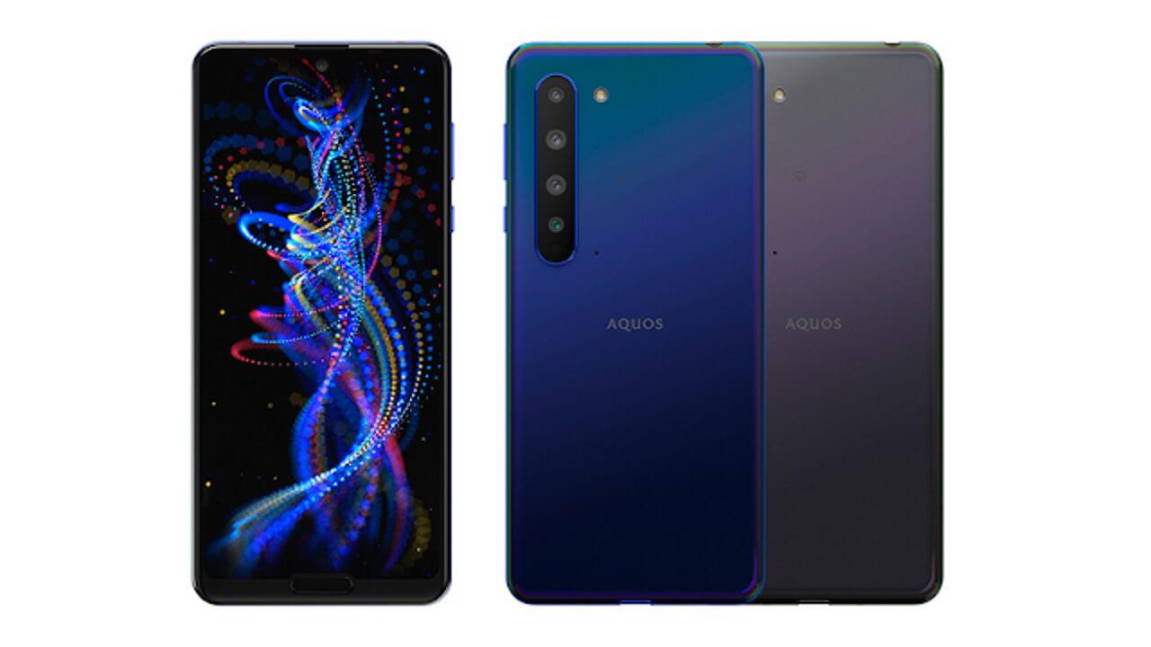 楽天モバイル、5G対応「AQUOS R5G」発売