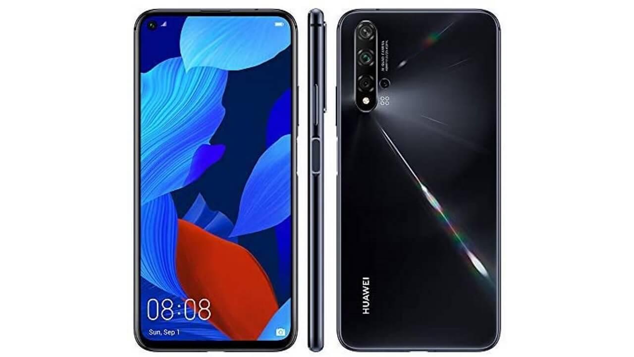 国内版「Huawei nova 5T」ブラックが特価【Amazonタイムセール祭り】