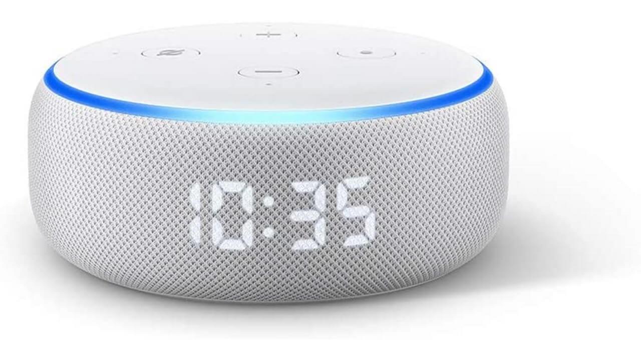 第3世代「Echo Dot with Clock」が3,000円引き【Amazonタイムセール祭り】