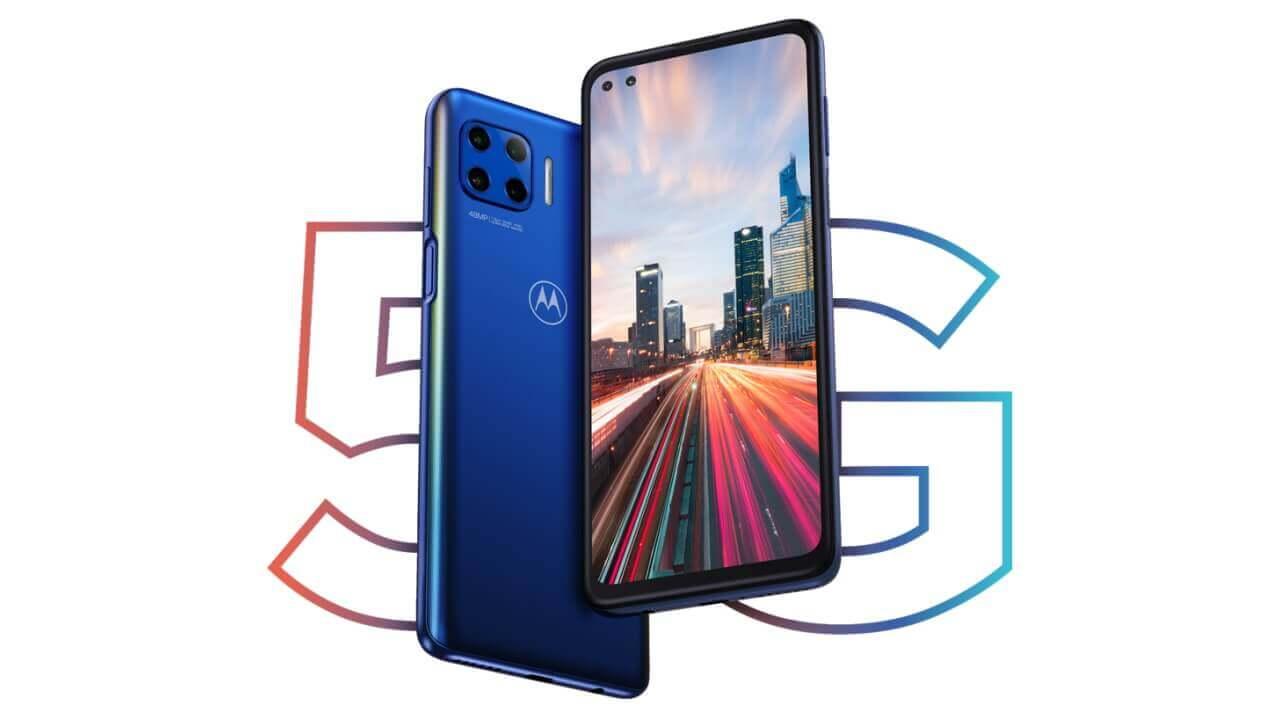 Motorola、5G対応「Moto G 5G Plus」正式発表