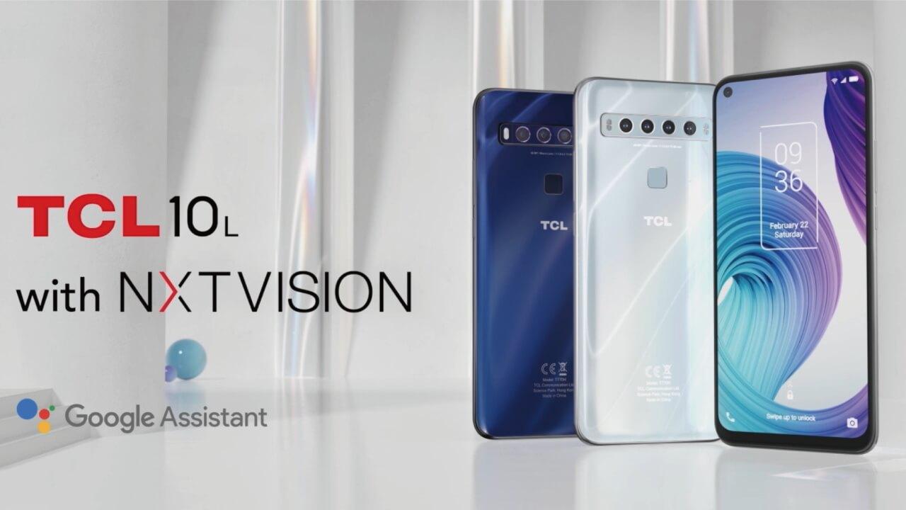 パンチホールカメラ搭載「TCL 10 Lite」7月31日国内発売