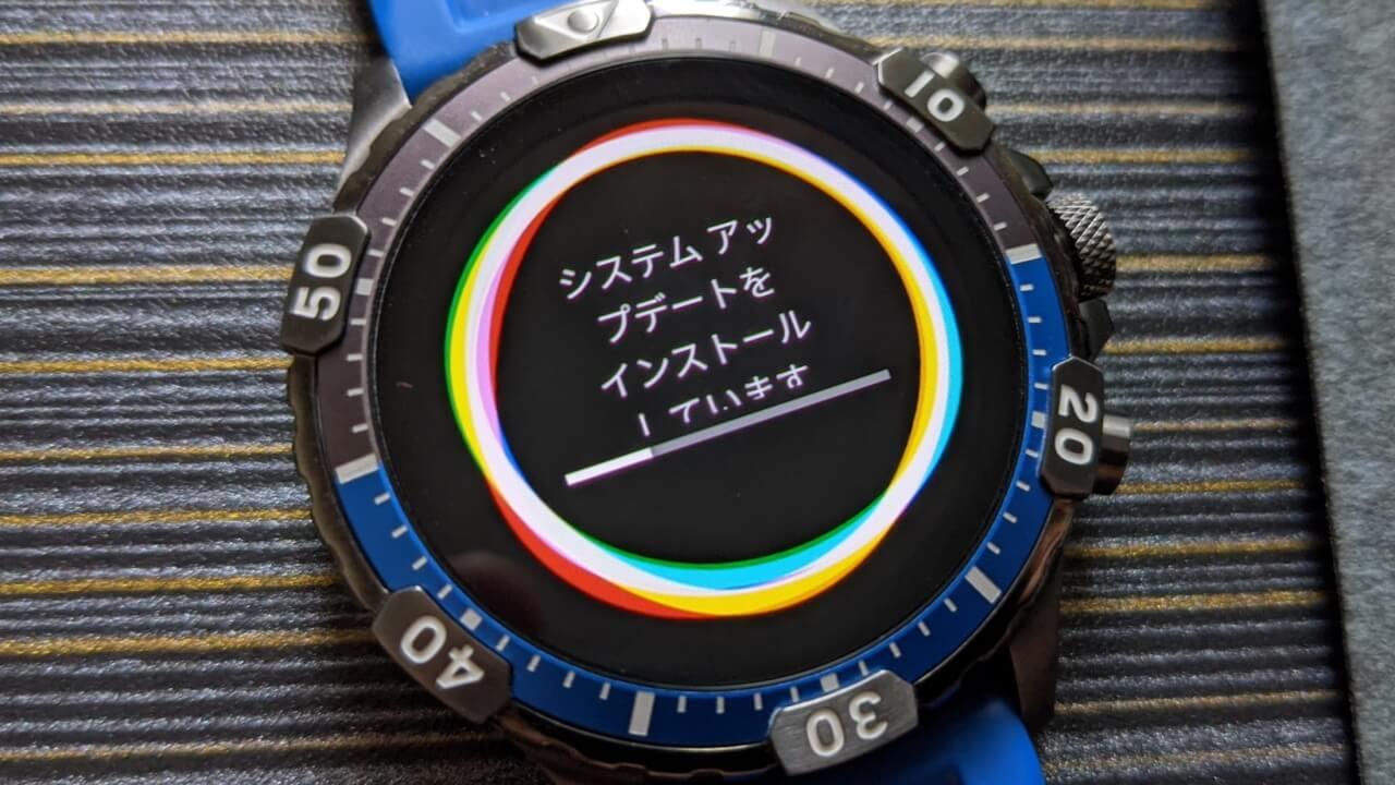 続々配信!Fossil第5世代Wear OSのシステムアップデート