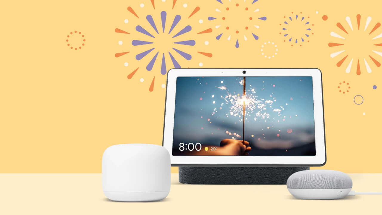 Googleストア、「Nest Mini」「Nest Hub」など4製品の特別セール開始【8月16日まで】