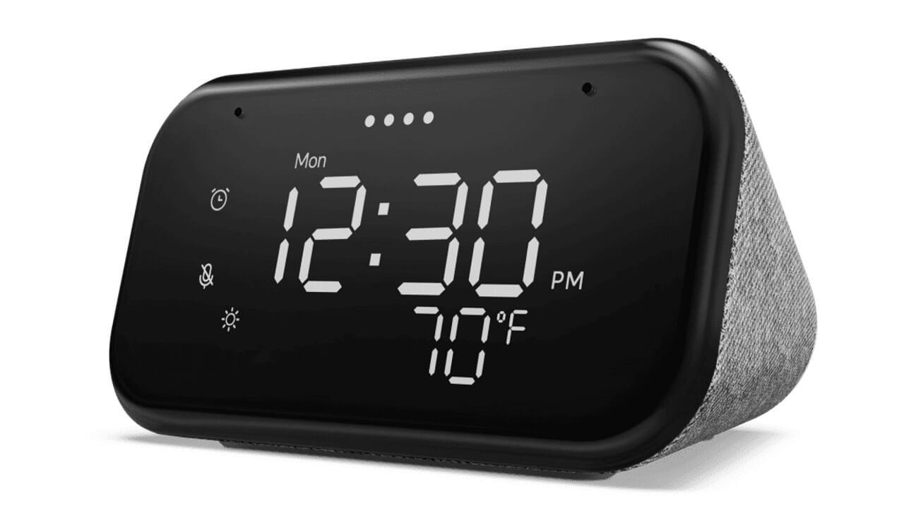 新型「Lenovo Smart Clock Essential」米国で発売