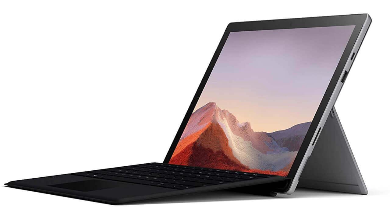 Amazon、Core i3「Surface Pro 7」+タイプカバーセットが23%引きの限定特価に