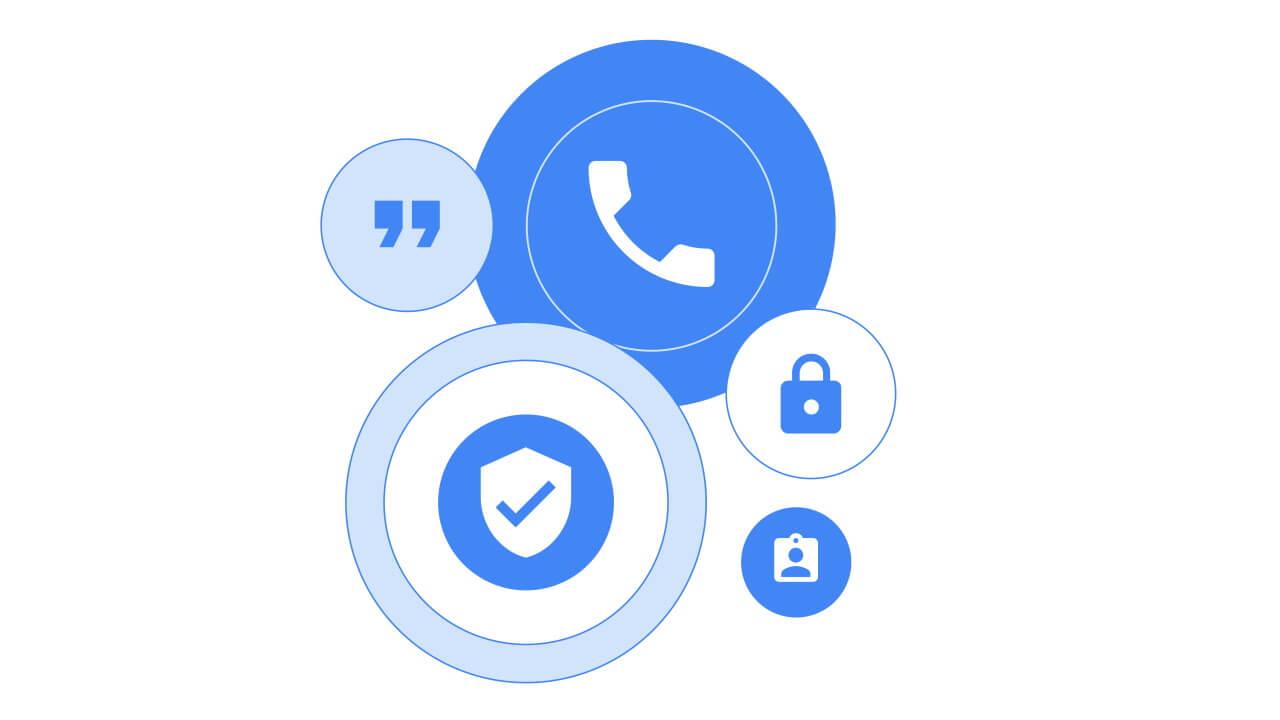 Google純正「電話」に認証済み番号機能が追加