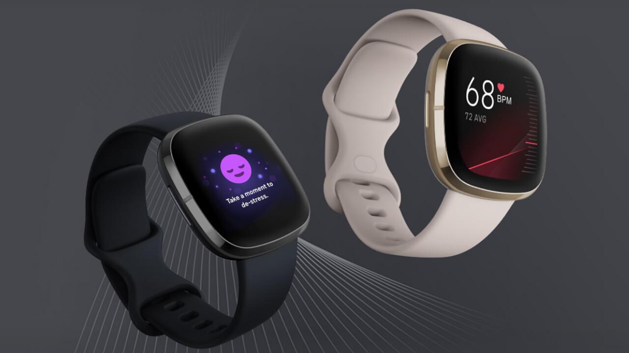 Googleアシスタント搭載「Fitbit Versa 3/Sense」予約開始
