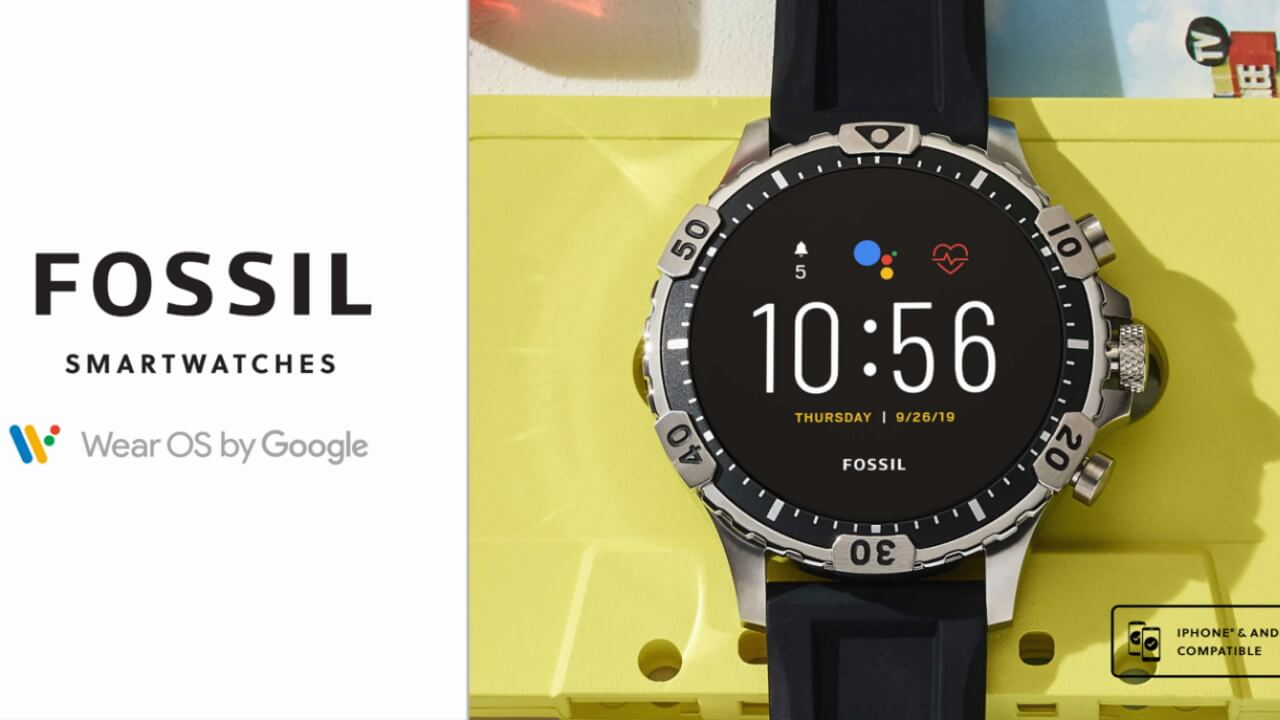 Fossil第5世代Wear OSがAmazonで一律30%引き!【9月1日限定】