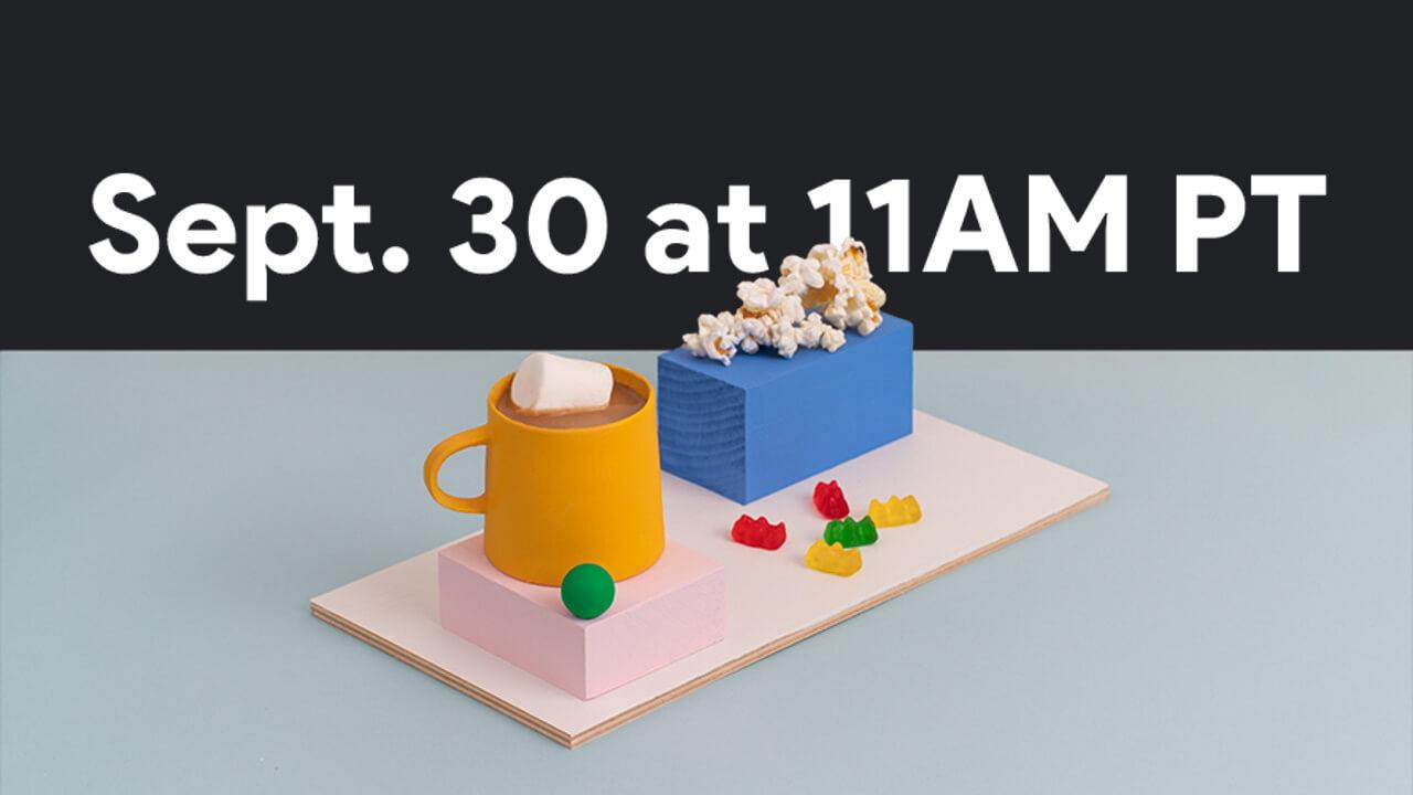 「Pixel 5」発表イベントは9月30日に開催!