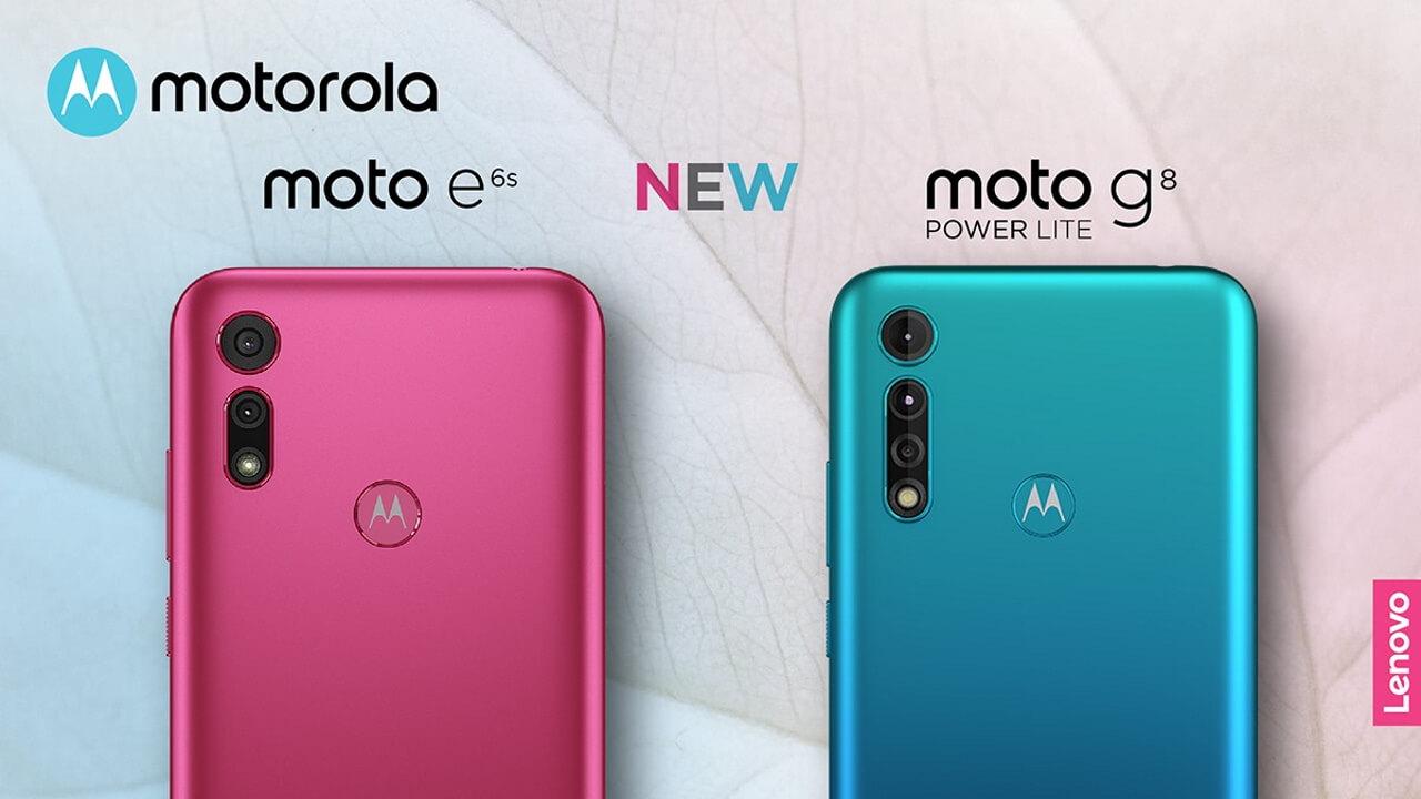 国内版「Moto G8 Power lite/Moto E6s」発売