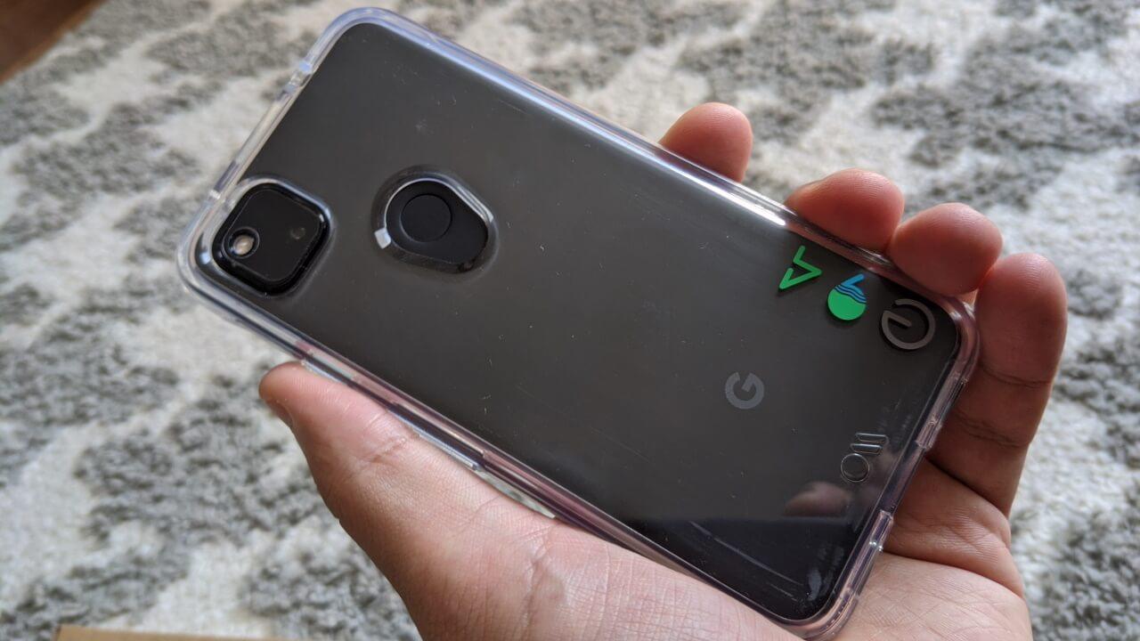 植物由来で自然に優しい「Pixel 4a用Case-Mate Eco94 Eco Clear スマートフォン ケース」レビュー