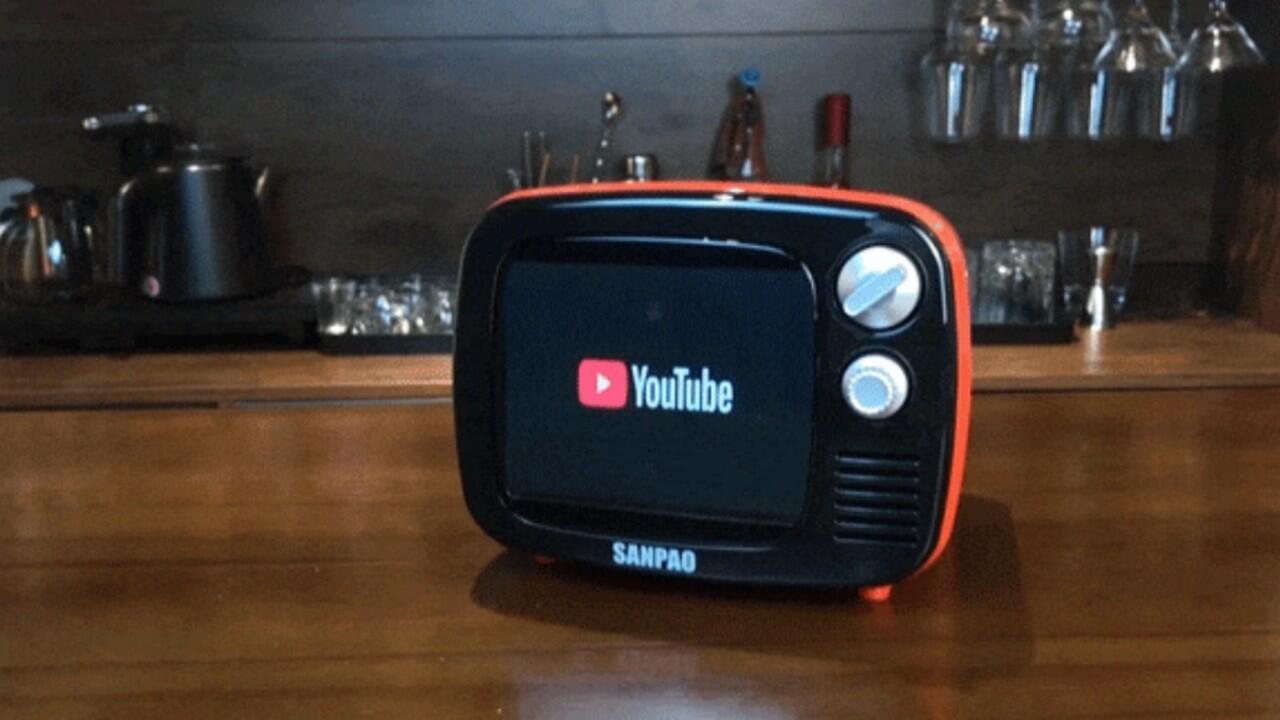 小型テレビ型Android「SANPAO」クラウドファンディング受付中