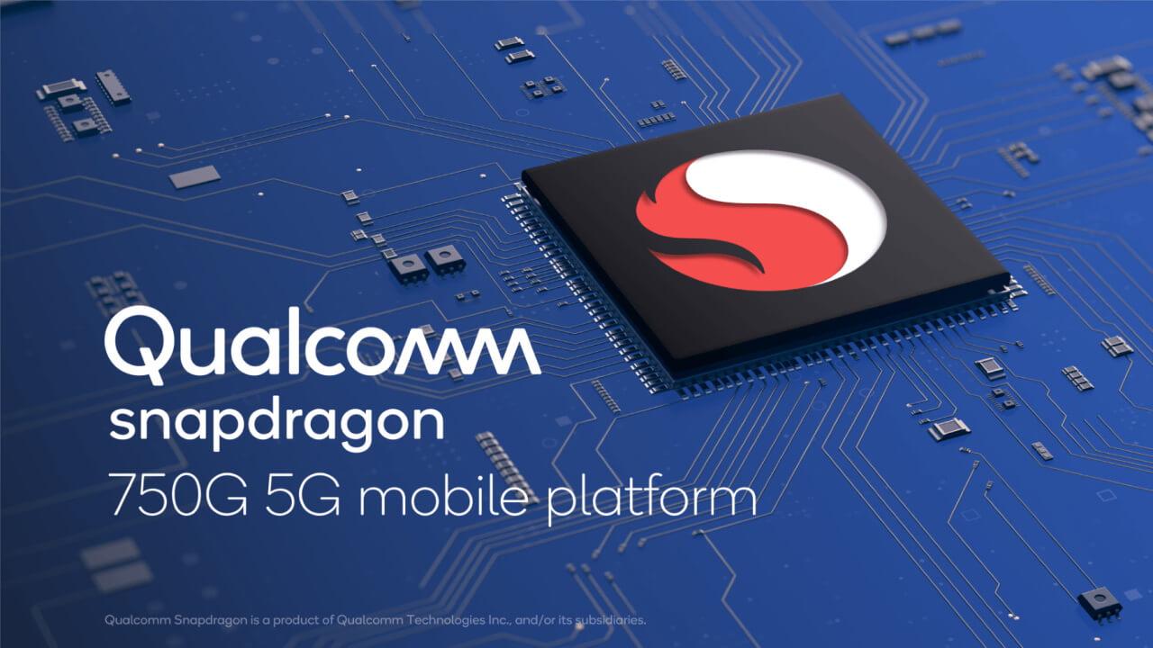 Qualcomm、5G対応「Snapdragon 750G」プロセッサ発表