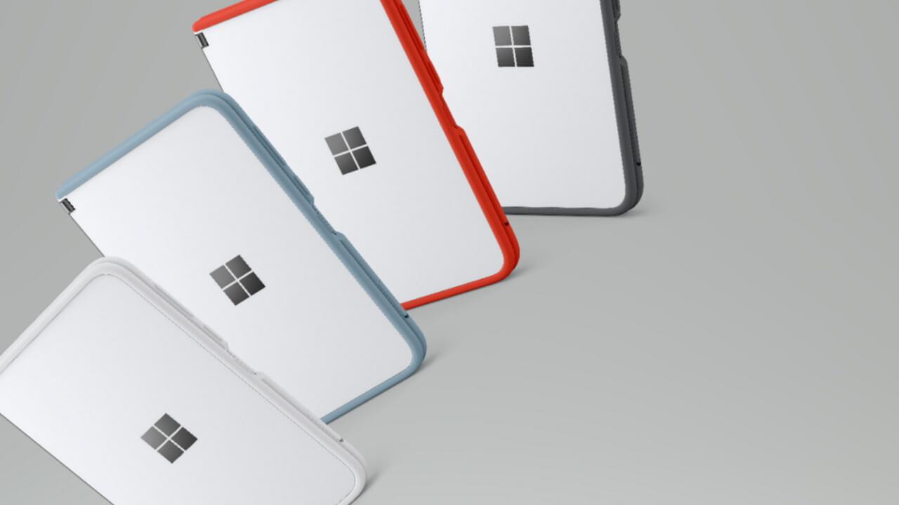 Best Buyに「Surface Duo」用カラフルバンパーが登場