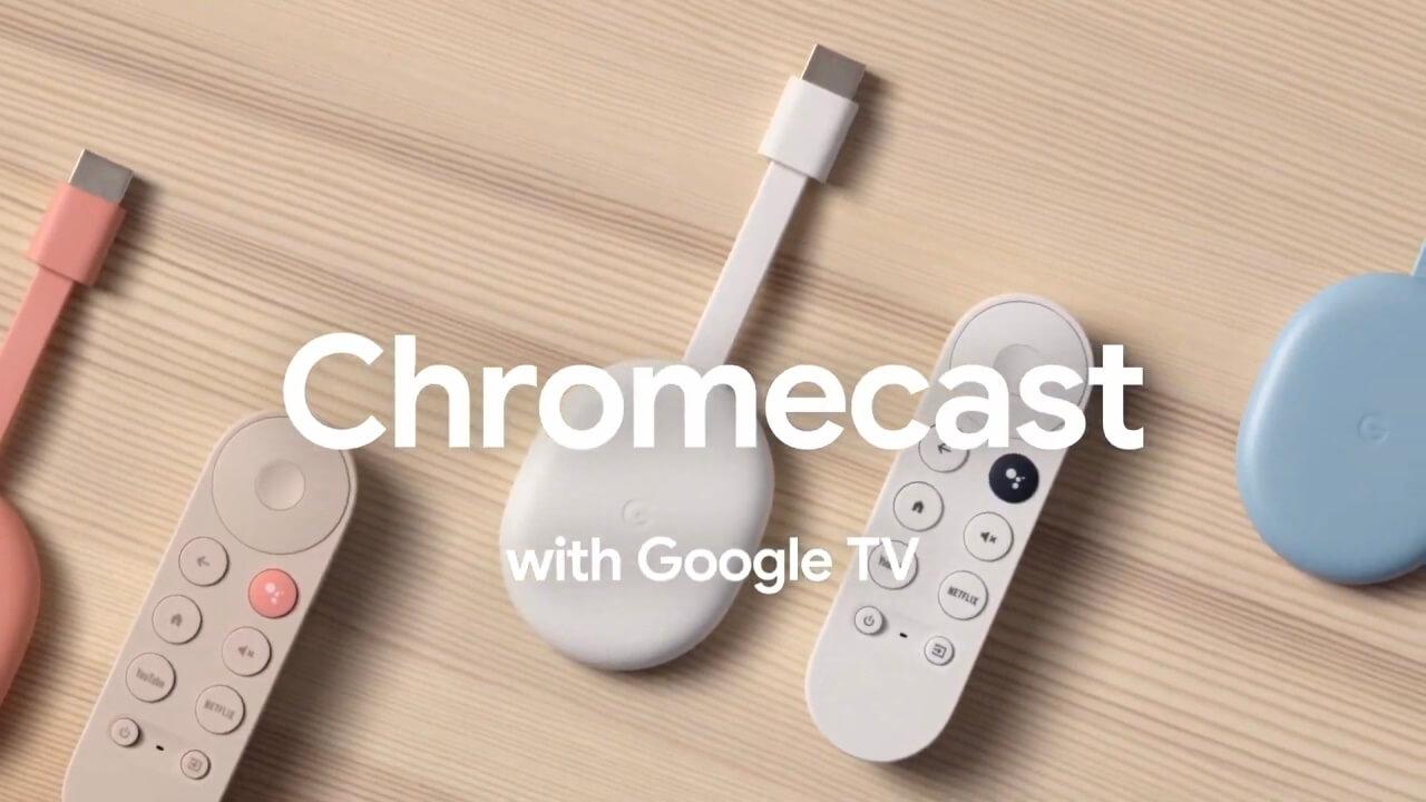 新プラットフォーム対応「Chromecast with Google TV」11月25日国内発売