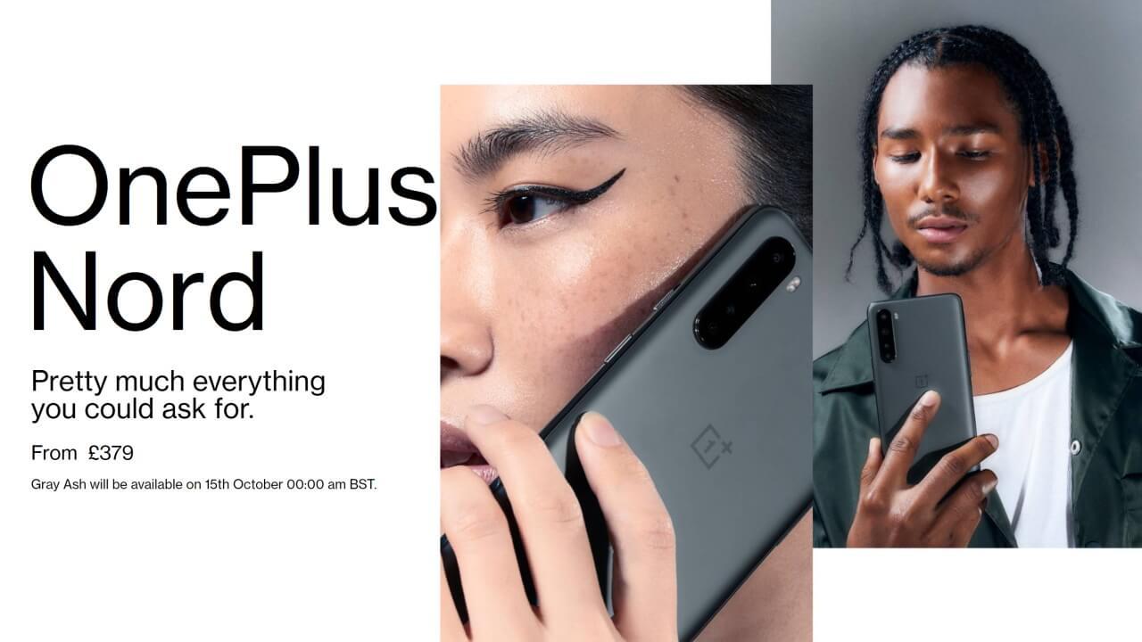 5G対応「OnePlus Nord」にマットな新色Gray Ashが追加