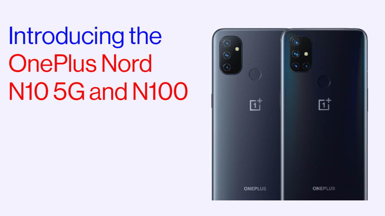 エントリーモデル「OnePlus Nord N10 5G/N100」発表