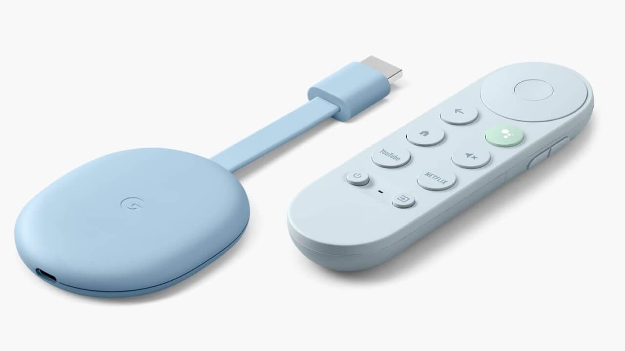 新プラットフォーム対応「Chromecast with Google TV」国内発売