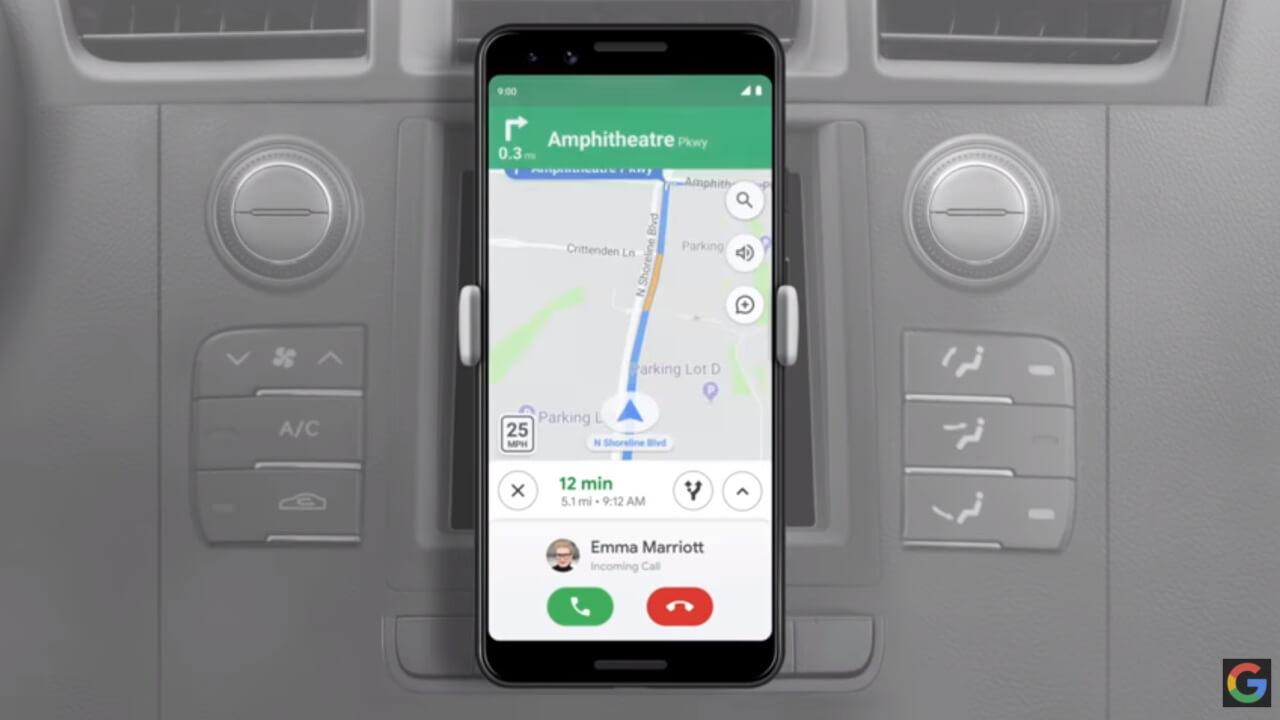 「Google アシスタント」の運転モードがようやく提供開始