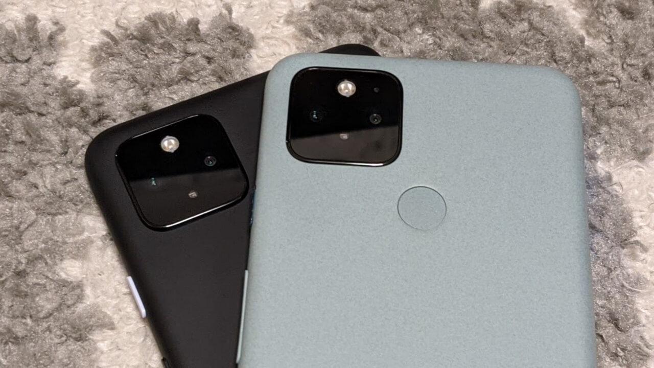 実は違う!「Pixel 5」「Pixel 4a(5G)」のカメラ性能