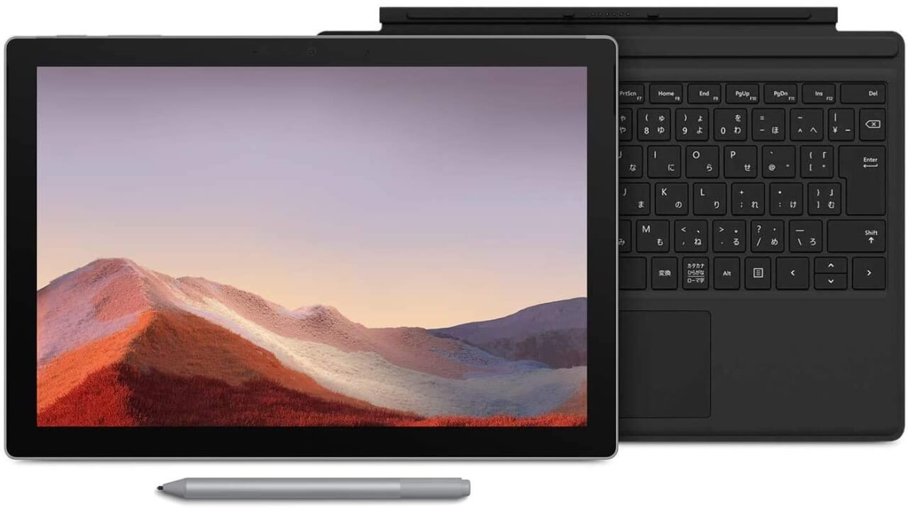 Core i5「Surface Pro 7」3点セットが特価【Amazon年末の贈り物セール】