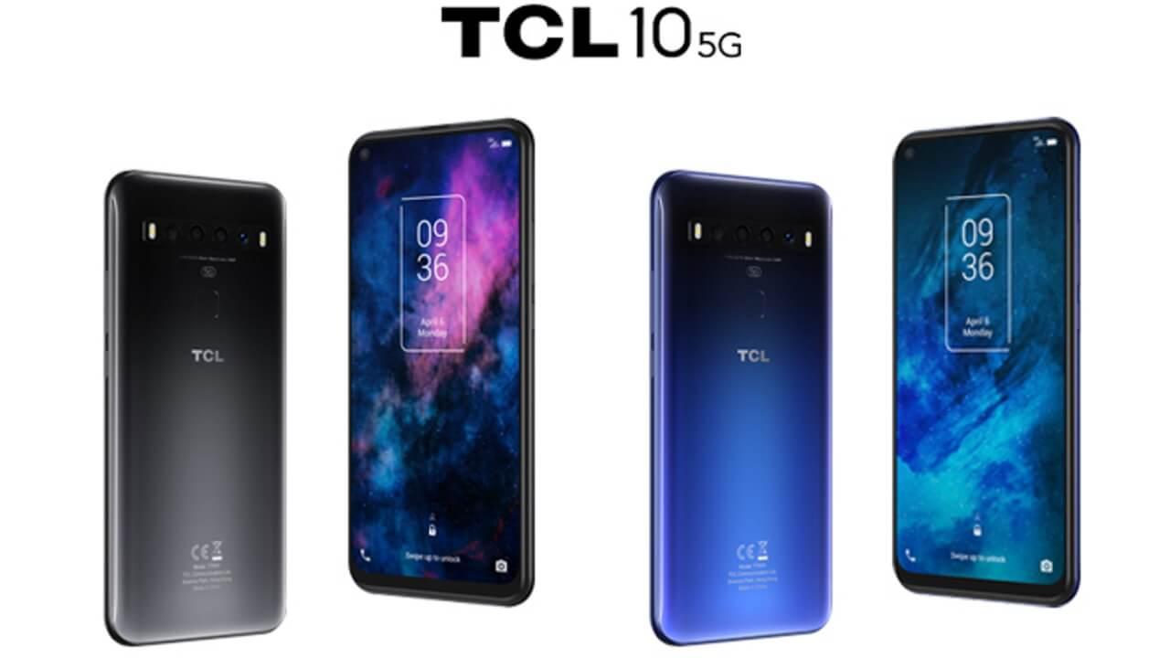5G対応「TCL 10 5G」+Style独占発売